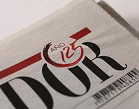 Diseño logo 125 años El Espectador