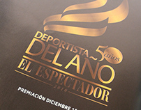 Diseño Logo Deportista del Año El Espectador 50 años