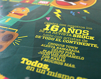 Promoción CD Aniversario Revista Shock