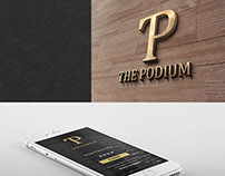 The Podium Logo Design