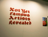 Not Yet Famous Artists Revealed Promotion
