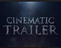 Cinematic Trailer - After Effects Template
