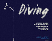 """Diving"" Party Flyer - Mar 2017"