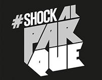 Logo hashtag Shock Al Parque