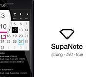 SupaNote IOS Application