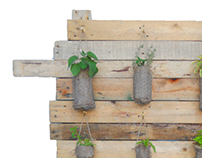 Eco Warrior Self-Watering Vertical Garden