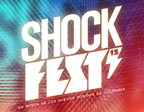 Propuesta diseño logo festival Shock Fest