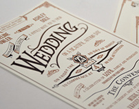 Wedding Invitation and Stationery