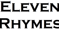 ELEVEN RHYMES (Folio Intro)