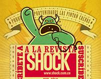 Suscripciones revista Shock
