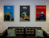 Print | Big Ring Interactive Wall Art
