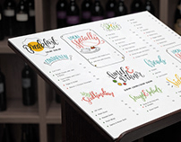 Illustrated Menu Design