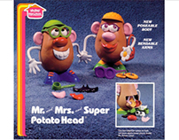 Co-redesign of Mr and Mrs Potato Head
