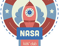 Logo Redesign // Nasa Kids' Club