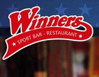 Piezas digitales restaurante Winners