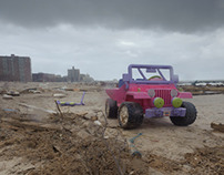Super Storm Sandy: Aftermath in Coney Island, NYC
