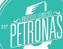 Tshirt Design for University Technology Of PETRONAS