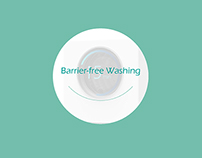 Barrier-free Washing Machine