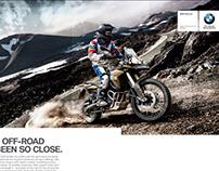BMW F800 GS campaign