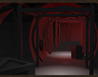 MAYA and 3DS MAX: Project Post Communism Hallways