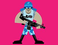 Soldier Onn, from Deja Vu Comics