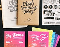 Stamp sets for Adobe Creative Residency at VidCon 2016