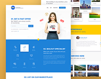 Free PSD. Seller Bailout. Homepage Website.