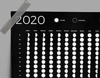 FULL MOON CALENDAR 2020