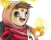 Character design Colegas