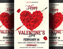 Valentines Day Flyer - Invitation