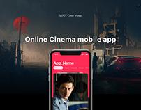 Online Cinema app - UI/UX Case study