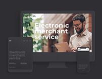 Product design of EMS (UI/Brand Identity)