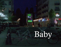 BABY  POSTER & TITLE DESIGN