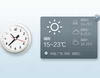 clock&weather
