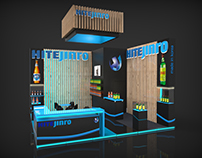 HiteJinro exhibition stand