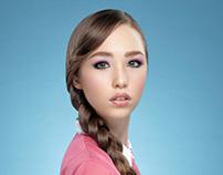Behind The Scene - Female Magazine Beauty Spread Photos