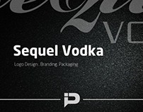 Sequel Vodka Logo + Branding