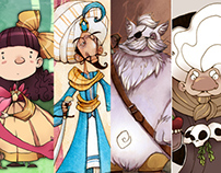 Character Design Portfolio- Fairy Tales