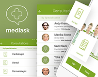Mediask - Application Concept