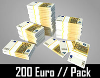 200 Euro // Pack