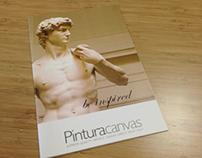 Pintura Canvas - brochure
