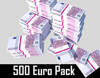 500 Euro // Pack