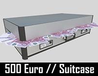 500 Euro // Suitcase
