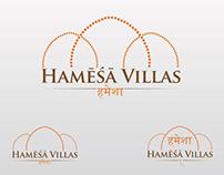 Hamēśā Villas logo design