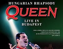Queen live - Hungarian Rhapsody 1986