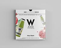 Design of presentation for W Juice