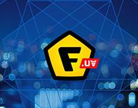 Logo and website design for F.UA