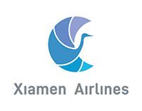 Xiamen Airlines Branding