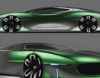 Jaguar free sketch
