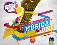 Premios Shock de la Música 2012
